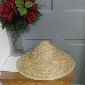 Accessories - NWT CHINESE STYLE HATS WITH NECK STRAP.